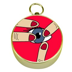 Poke in the eye Gold Compasses