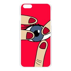 Poke in the eye Apple Seamless iPhone 6 Plus/6S Plus Case (Transparent)