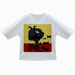 Angry little dog Infant/Toddler T-Shirts