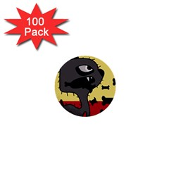 Angry little dog 1  Mini Buttons (100 pack)