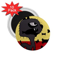 Angry little dog 2.25  Magnets (10 pack)