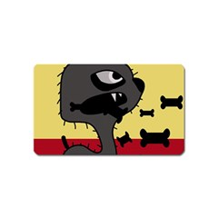 Angry little dog Magnet (Name Card)