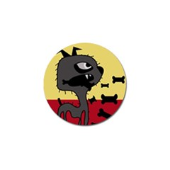 Angry little dog Golf Ball Marker (4 pack)