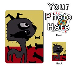 Angry little dog Multi-purpose Cards (Rectangle)