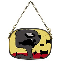 Angry little dog Chain Purses (One Side)