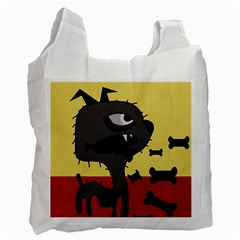 Angry little dog Recycle Bag (Two Side)