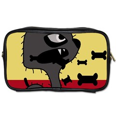 Angry little dog Toiletries Bags
