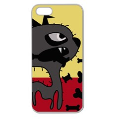 Angry little dog Apple Seamless iPhone 5 Case (Clear)