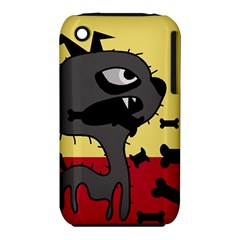 Angry little dog Apple iPhone 3G/3GS Hardshell Case (PC+Silicone)