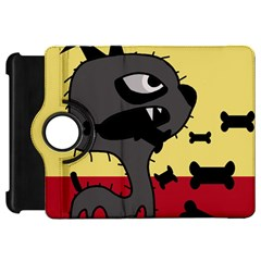 Angry little dog Kindle Fire HD Flip 360 Case