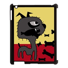 Angry little dog Apple iPad 3/4 Case (Black)
