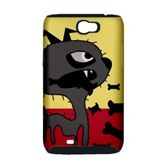 Angry little dog Samsung Galaxy Note 2 Hardshell Case (PC+Silicone)