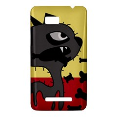 Angry little dog HTC One SU T528W Hardshell Case