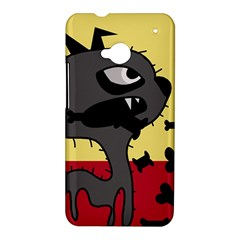 Angry little dog HTC One M7 Hardshell Case