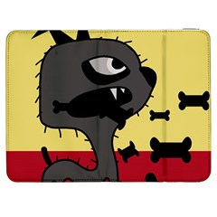 Angry little dog Samsung Galaxy Tab 7  P1000 Flip Case