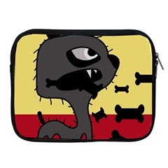 Angry little dog Apple iPad 2/3/4 Zipper Cases