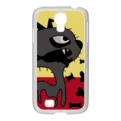 Angry little dog Samsung GALAXY S4 I9500/ I9505 Case (White)
