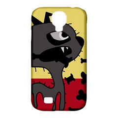 Angry little dog Samsung Galaxy S4 Classic Hardshell Case (PC+Silicone)