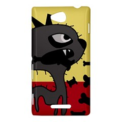 Angry little dog Sony Xperia C (S39H)