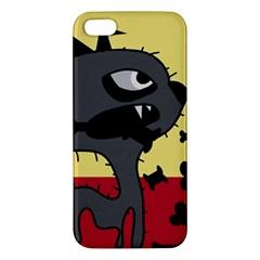 Angry little dog iPhone 5S/ SE Premium Hardshell Case