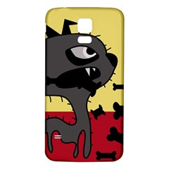 Angry little dog Samsung Galaxy S5 Back Case (White)