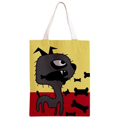 Angry little dog Classic Light Tote Bag