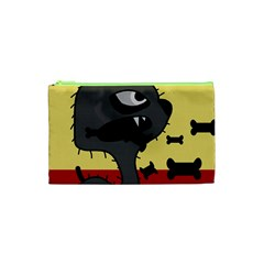 Angry little dog Cosmetic Bag (XS)