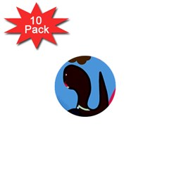 Sea monster 1  Mini Buttons (10 pack)