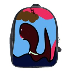 Sea monster School Bags(Large)