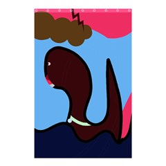 Sea monster Shower Curtain 48  x 72  (Small)