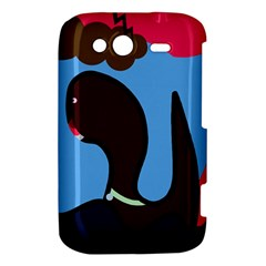 Sea monster HTC Wildfire S A510e Hardshell Case