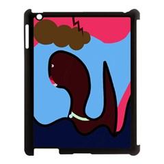 Sea monster Apple iPad 3/4 Case (Black)