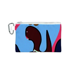 Sea monster Canvas Cosmetic Bag (S)