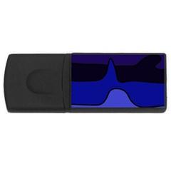 Waves USB Flash Drive Rectangular (2 GB)