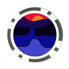 Waves Poker Chip Card Guards