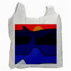 Waves Recycle Bag (Two Side)