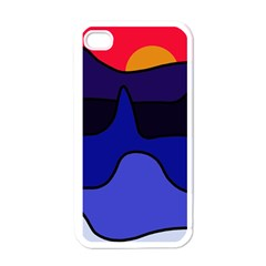 Waves Apple iPhone 4 Case (White)