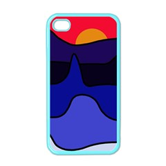 Waves Apple iPhone 4 Case (Color)