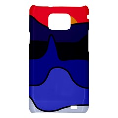 Waves Samsung Galaxy S2 i9100 Hardshell Case