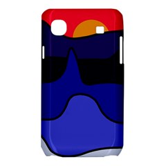 Waves Samsung Galaxy SL i9003 Hardshell Case