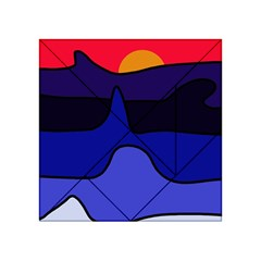 Waves Acrylic Tangram Puzzle (4  x 4 )