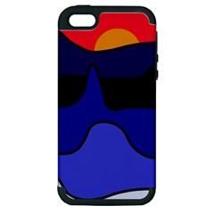 Waves Apple iPhone 5 Hardshell Case (PC+Silicone)