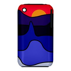 Waves Apple iPhone 3G/3GS Hardshell Case (PC+Silicone)