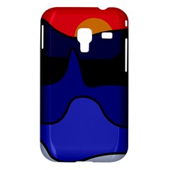 Waves Samsung Galaxy Ace Plus S7500 Hardshell Case