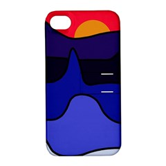 Waves Apple iPhone 4/4S Hardshell Case with Stand