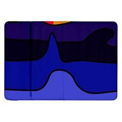 Waves Samsung Galaxy Tab 8.9  P7300 Flip Case
