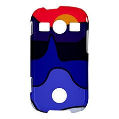 Waves Samsung Galaxy S7710 Xcover 2 Hardshell Case