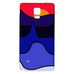 Waves Galaxy Note 4 Back Case