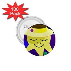 Mr. Sun 1.75  Buttons (100 pack)