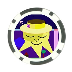 Mr. Sun Poker Chip Card Guards